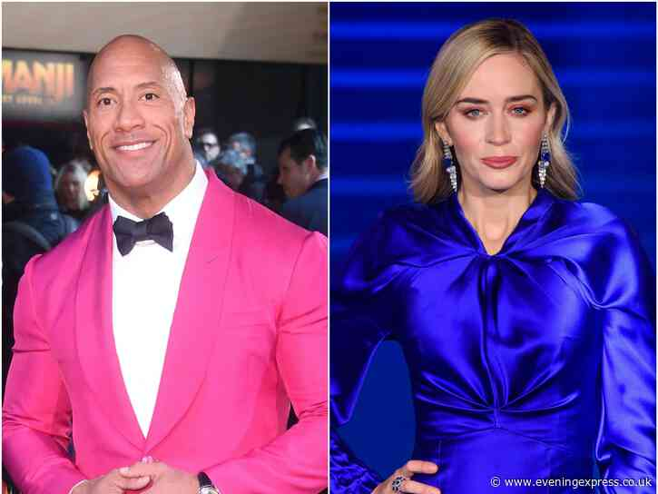 Superhero film starring The Rock and Emily Blunt to arrive on Netflix - Aberdeen Evening Express