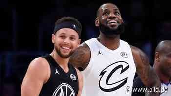 NBA-Stars um LeBron James wollen Saison fortsetzen - BILD