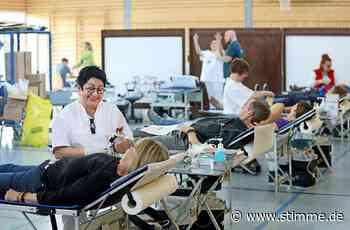 Ansturm auf Blutspendeaktion Bad Friedrichshall - STIMME.de - Heilbronner Stimme