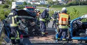 Drei Schwerverletzte bei Frontalzusammenstoß zwischen Usingen und Neu-Anspach - Usinger Anzeiger
