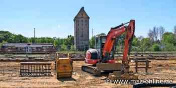 Pritzwalk - Große Baustelle am Bahnhof Pritzwalk - Märkische Allgemeine Zeitung