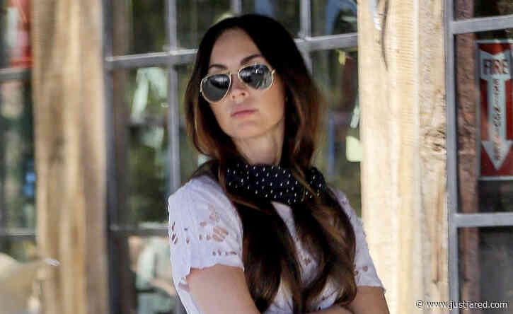 Megan Fox Steps Out Sans Wedding Ring Amid Speculation of Marriage Trouble