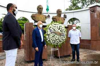 Abreu e Lima lembra os 38 anos de emancipação política e faz homenagem às vítimas da Covid-19 - Ricardo Antunes