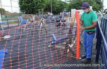 Prefeitura de Abreu e Lima interdita espaços de esportes e lazer - Diário de Pernambuco