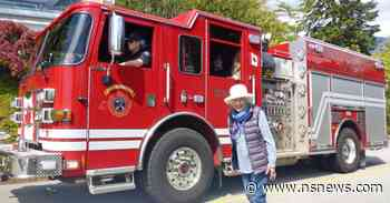 West Vancouver firefighters are rescuing birthday parties disrupted by COVID-19 - North Shore News