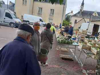 A Craon, un premier marché déconfiné aux règles pas toujours respectées - actu.fr