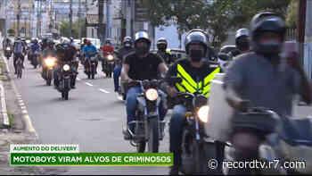 Motoboys viram alvos de criminosos em Campos dos Goytacazes (RJ) - R7