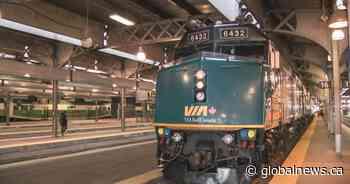 Via Rail services between Quebec City, Windsor cut by 50% - Globalnews.ca