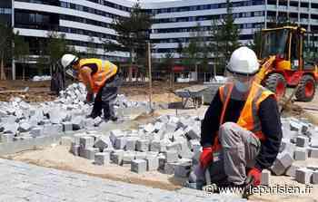 Déconfinement : les chantiers reprennent sur le plateau de Saclay - Le Parisien