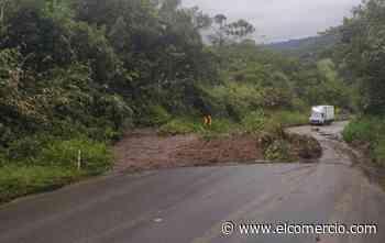 Vía Riobamba - Macas, parcialmente habilitada por los deslizamientos - El Comercio (Ecuador)