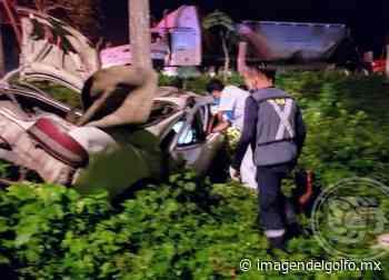 Muere reportero en carretera federal 175 tramo Cosamaloapan - Tuxtepec - Imagen del Golfo
