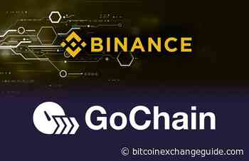 GoChain (GO) Cryptocurrency to be the Next Binance Exchange Listing - Bitcoin Exchange Guide
