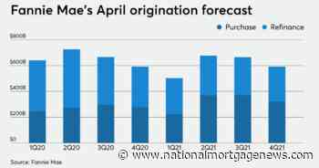 Fannie Mae predicts highest refinancing volume in nearly a decade - National Mortgage News
