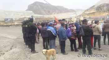 Junín: Morococha, un conflicto latente que podría reactivarse por indiferencia de Chinalco [VIDEO] - LaRepública.pe
