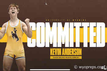 Kelly Walsh Wrestler Kevin Anderson Commits to UW - WyoPreps