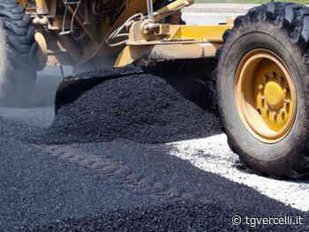 Lavori di asfaltatura in alcune vie di Borgosesia - tgvercelli.it