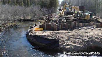 Huron Pines works on East Branch Black River - WBKB-TV
