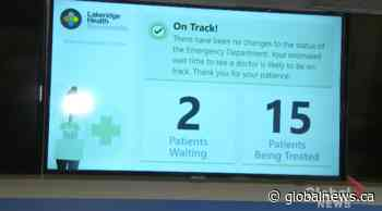 Bowmanville Hospital testing AI technology for personalized emergency wait times - Globalnews.ca