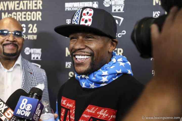 Floyd Mayweather Rejects Rumors That He Needs Money - BoxingScene.com