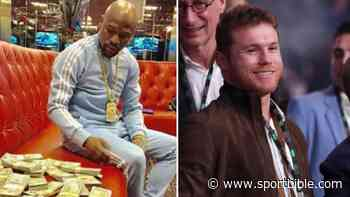 Floyd Mayweather Fires Fresh Shot At Saul 'Canelo' Alvarez Over Fight Contract - SPORTbible