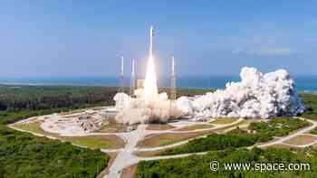 In photos: Atlas V launches AEHF-6 military satellite for US Space Force