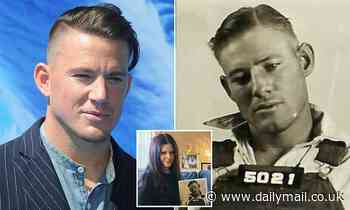 Granddaughter shares the mug shot of her Channing Tatum doppelganger grandfather - Daily Mail