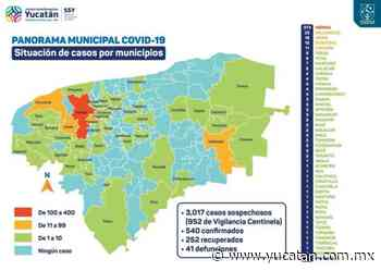 La pandemia llega a Muna y Yaxkukul y cerca a nueve municipios - El Diario de Yucatán