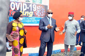 Uzodimma Commissions Covid-19 Testing Centre in Owerri - Naija247news
