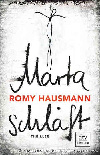 """""""Marta schläft"""" von Romy Hausmann - JungeMedien Hamburg e.V."""