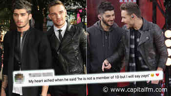 Liam Payne Says He'd Collab With Zayn Malik Out Of One Direction Boys Even Though 'He's Not Really A Member... - Capital