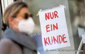 Corona: Grafik zeigt Auswirkungen auf Einzelhandel nach Lockerung - Business Insider Deutschland
