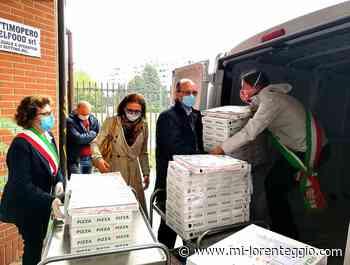 Da Pero e Settimo M.se, pizze e focacce donate ai dipendenti dell'Asst Rhodense di Rho e Passirana - Mi-Lorenteggio