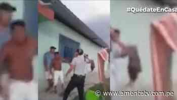 Piura: Pobladores de Salitral se enfrentaron a policías para no ser detenidos - América Televisión