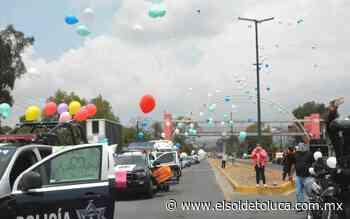 Dan muestras de apoyo a personal médico de Ixtapaluca por su labor ante Covid-19 - El Sol de Toluca