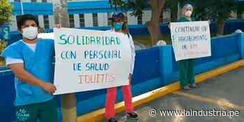 Personal de Essalud en Chocope acatan plantón para exigir EPP - La Industria.pe