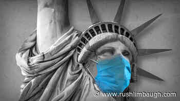 As Virus News Improves, Mask Wearing Increases - RushLimbaugh.com
