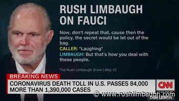 One of You Blabbed to Don Lemon! - RushLimbaugh.com