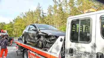 Auffahrt auf A73 verpasst: Unfall zwischen Zollhaus und Wendelstein - Nordbayern.de