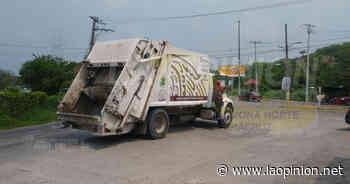 Se dispara recolección de basura en cuarentena por Covid-19, en Coatzintla - La Opinión