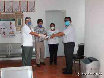 Aporta el ayuntamiento gel y cubrebocas a Centros de Salud en Coatzintla - NORESTE