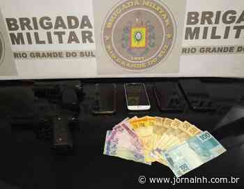 BM prende casal suspeito de cometer roubos a pedestres em Esteio - Jornal NH