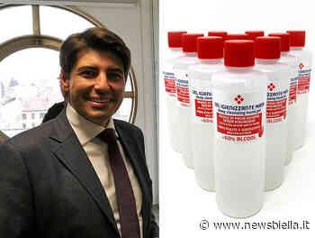 Pmi srl dona al comune di Mottalciata 600 flaconi di gel igienizzante - newsbiella.it