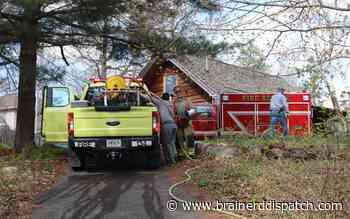 Pillager firefighters respond to grass fire near Gull Lake - Brainerd Dispatch
