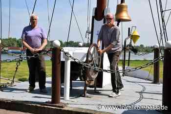 Schiffermast erhielt neuen Anstrich: Auch das ist Tradition - Lokalkompass.de