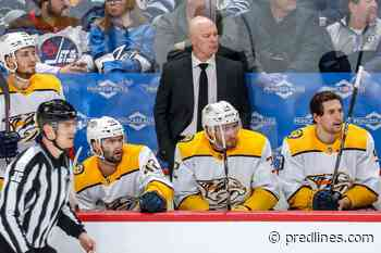 Nashville Predators Season Grades: Coach Hynes Brings New Mindset