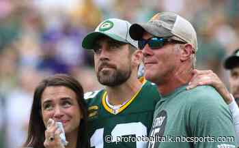 Aaron Rodgers' relationship with Brett Favre not what it once was
