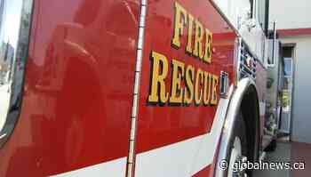 Family of 3 safe after house fire in Quispamsis, N.B. - Globalnews.ca