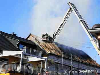 Deutschland / Hausbrand in Perl löst grenzübergreifenden Feuerwehreinsatz aus   Tageblatt.lu - Tageblatt online
