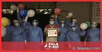 Covid-19: Mais um paciente recebe alta no Hospital de Piripiri/PI - Fala Piauí