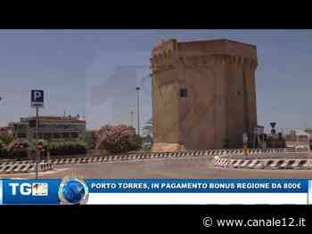 PORTO TORRES, IN PAGAMENTO BONUS DA 800 EURO - Canale 12